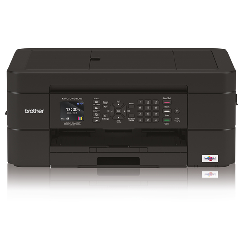 BROTHER MULTIF. INK MFCJ491DWM1 27PPM FRONTE/RETRO USB/WIRELESS STAMPANTE SCANNER COPIATRICE FAX, STAMPA DA APP, DISPLAY LCD