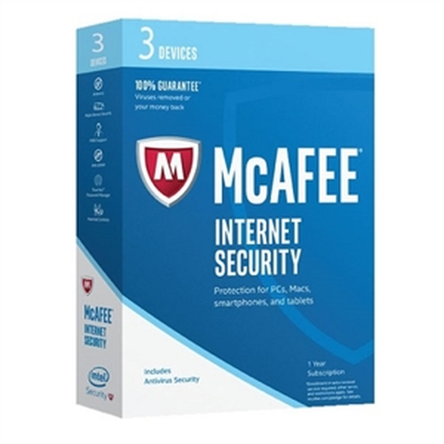 MCAFEE 2017 INTERNET SECURITY 3 DEVICE