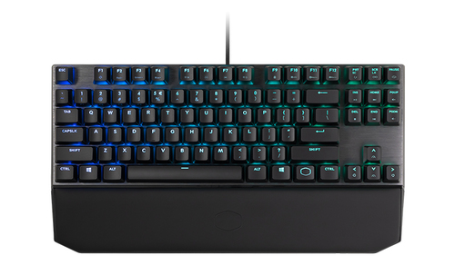 COOLER MASTER TASTIERA MECCANICA GAMING RGB, NO TAST NUMERICO, RED SWITCH, LAYOUT ITA