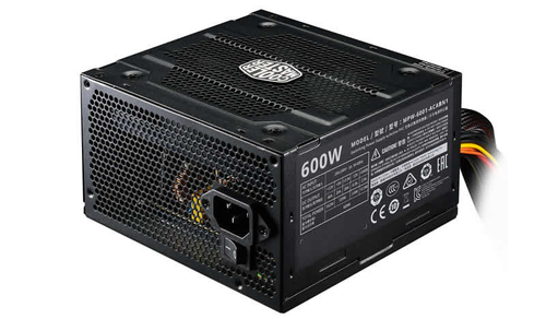 COOLER MASTER ALIMENTATORE ELITE V3 600W ATX 120 MM FAN