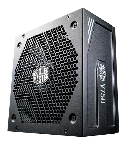 COOLER MASTER ALIMENTATORE V750 GOLD BLACK V2 750W FAN ACTIVE PFC PSU FULL MODULAR