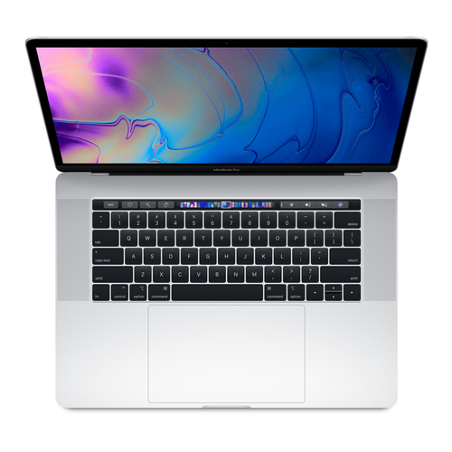 APPLE NB MACBOOK PRO I7 8TH 512GB SSD 15 WITH TOUCH BAR SILVER