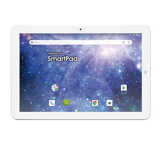 MEDIACOM SMARTPAD 10.1 2GB+16GB OCTACORE 4G ANDROID 9.0 SILVER