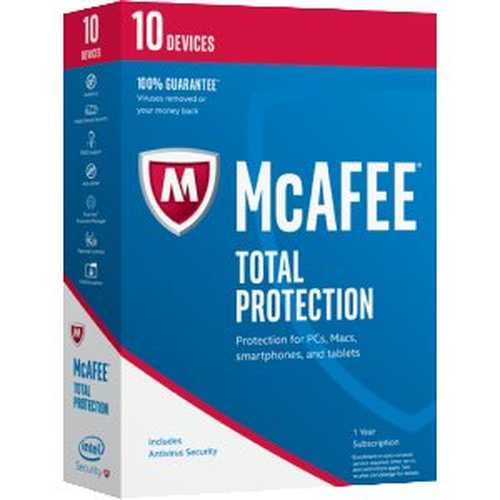 MCAFEE 2017 TOTAL PROTECTION 10 DEVICE