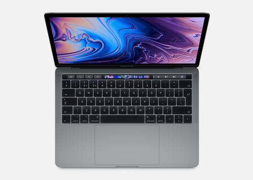 APPLE NB MACBOOK PRO WITH TOUCH BAR 13 1.4GHZ QUAD-CORE 8TH-GENERATION INTEL CORE I5 PROCESSOR, 256GB - SPACE GREY