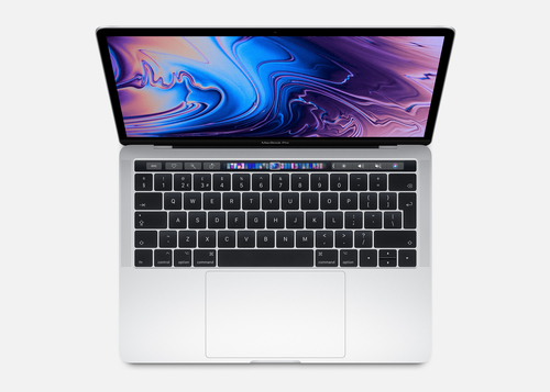 APPLE NB MACBOOK PRO WITH TOUCH BAR 13 1.4GHZ QUAD-CORE 8TH-GENERATION INTEL CORE I5 PROCESSOR, 128GB - SILVER