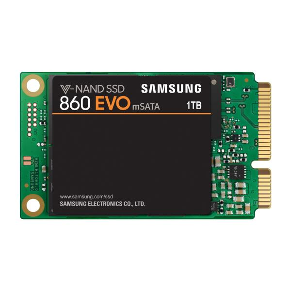 SAMSUNG SSD 860 EVO MSATA 1TB 2,5 MSATA3 MJX CONTROLLER V-NAND MLC 550/520 MB/S R/W