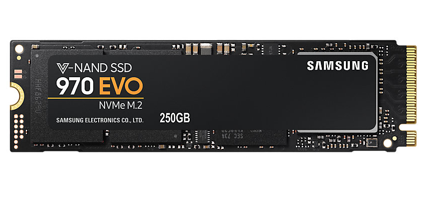 SAMSUNG SSD 970 EVO M.2 PCIE 3.0X4 NVME 1.3 250GB