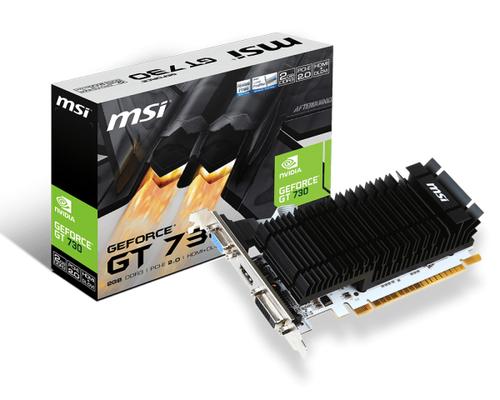 MSI VGA N730K-2GD3H/LP, 2GB GDDR3, DVI-D/HDMI/VGA