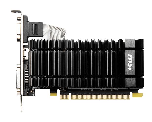 MSI VGA N730K-2GD3H/LPV1, DVI-D/HDMI/VGA, LP