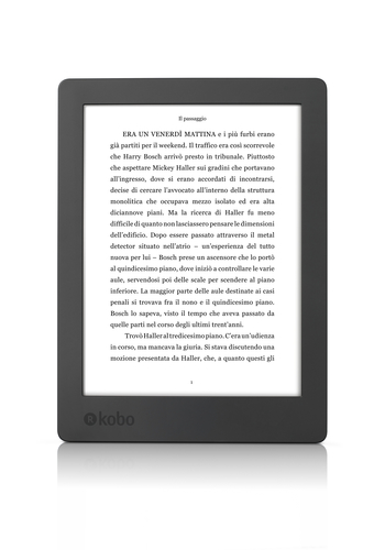 KOBO EBOOK READER AURA H2O 2ND EDITION BLACK