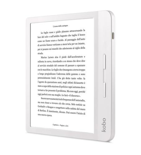 KOBO EBOOK READER LIBRA H2O WHITE