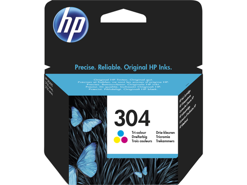 HP CART INK COLORE (C/M/Y) N.304 PER DJ3720/3730