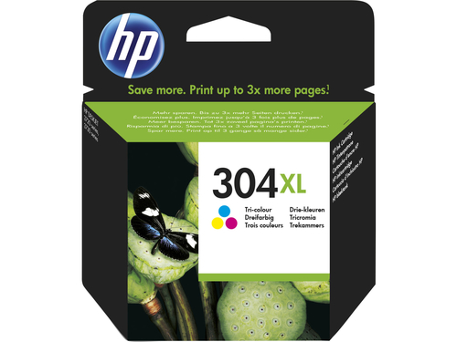 HP CART INK COLORE (C/M/Y) N.304XL PER DJ3720/3730