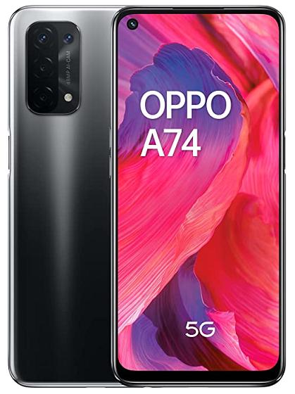 OPPO A74 128GB 6GB RAM 5G DUAL SIM FLUID BLACK