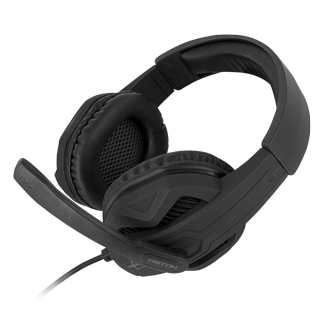 ATLANTIS TRITON H310 GAMING HEADSET CON MICROFONO PADIGLIONI AURICOLARI DA 40MM REGOLATORE DEL VOLUME INTERRUTTORE ON/OFF DEL MICROFONO CAVO INTRECCIATO DA 1,2MT  INCLUDE ATLANTIS ANTIVIRUS 12 MESI