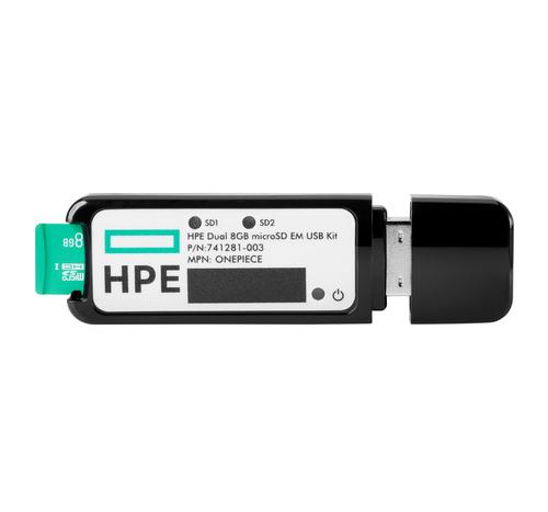 HEWLETT PACKARD ENTERPRISE HPE 32GB MICROSD RAID 1 USB BOOT