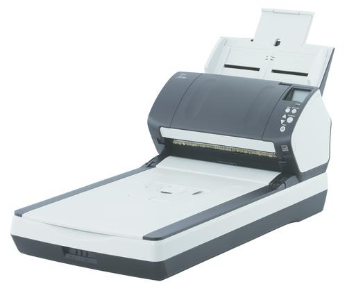FUJITSU SCANNER DOCUMENTALE FI-7260 A4 60PPM/120IPM FRONTE/RETRO FB + ADF 80FF 600DPI USB