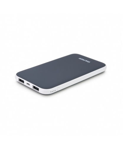 VULTECH POWER BANK 5000 MAH 5V-2A GRIGIO