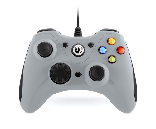 NACON CONTROLLER WIRED PER PC CON PULSANTE HOME COMPATIBILE CON TUTTI I GIOCHI PER PC E CON WINDOWS XP/VISTA/7/8/10 - GREY