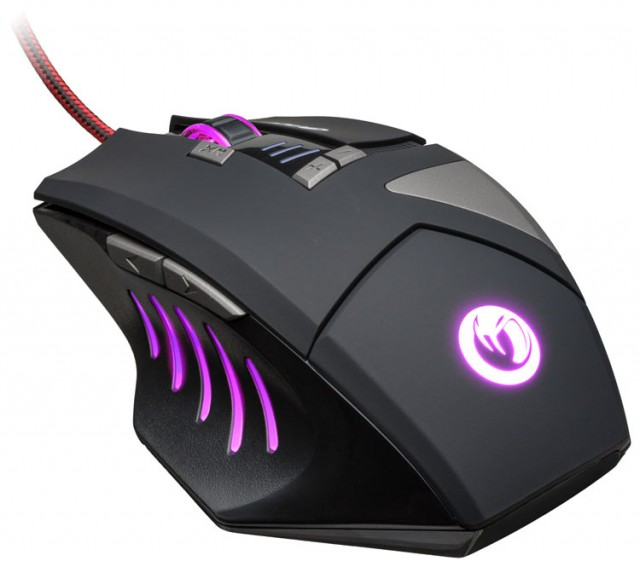 NACON MOUSE GAMING OTTICO FINO A 2500 DPI, USB 1,8,MT, 8 TASTI