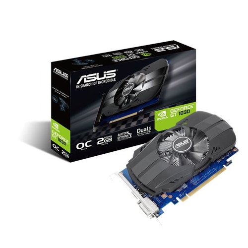 ASUS VGA NVIDIA GT1030 2GB GDDR5 DVI HDMI LOW PROFILE