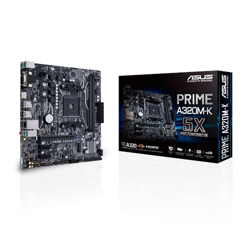 ASUS MB PRIME A320M-K MICRO ATX AM4