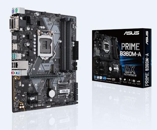 ASUS MB PRIME B360M-A MATX LGA1151 8TH DVI/HDMI/VGA