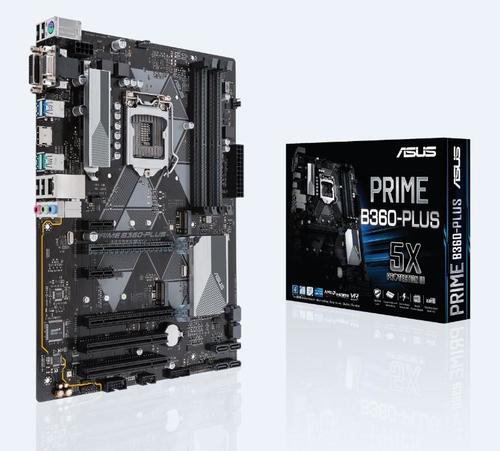 ASUS MB PRIME B360-PLUS  ATX LGA1151 8TH