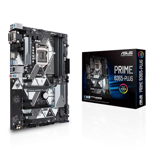ASUS MB PRIME B365-PLUS LGA 1151 4*DDR4 PCI-EX/16 SATA3 USB3.1 VGA DVI HDMI MATX