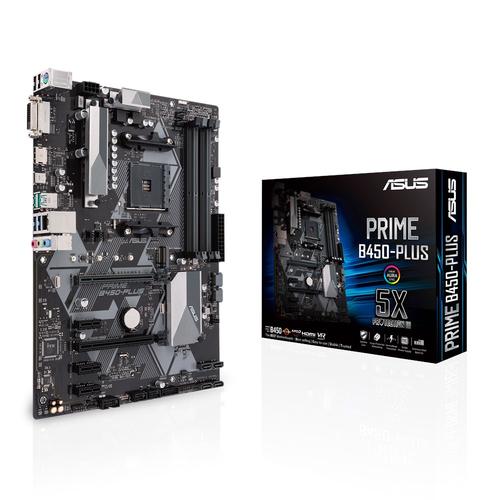 ASUS MB PRIME B450-PLUS DVI HDMI ATX