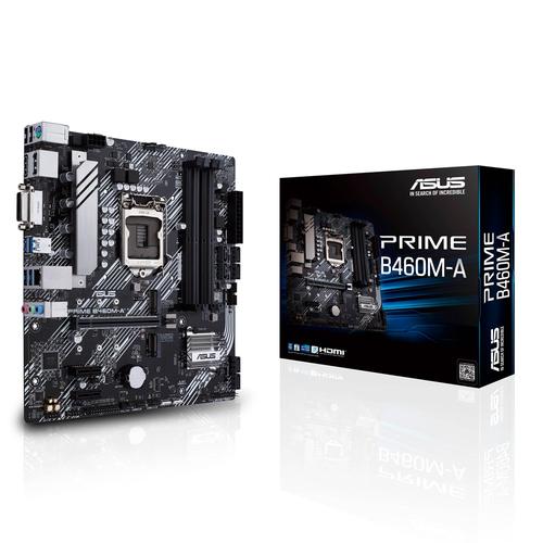 ASUS MB PRIME B460M-A 1200 4DDR4 VGA HDMI DP MATX