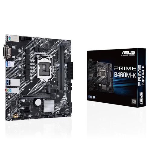 ASUS MB PRIME B460M-K 1200 2DDR4 VGA DVI MATX