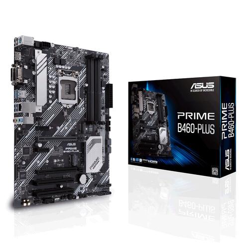 ASUS MB PRIME B460-PLUS LGA 1200 4DDR4 VGA/DVI/HDMI GLAN ATX
