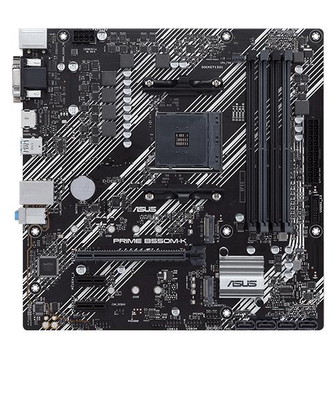 ASUS MB AMD PRIME B550M-K AM4 DDR4