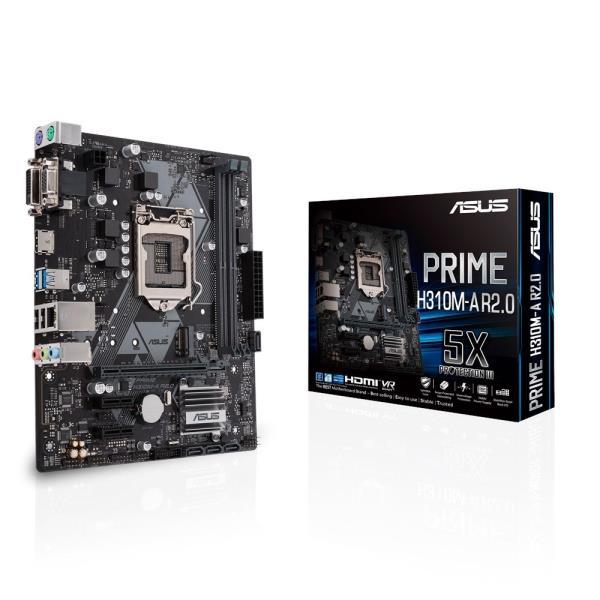 ASUS MB PRIME H310M-A R2.0 LGA1151-V2 DVI/HDMI/DP