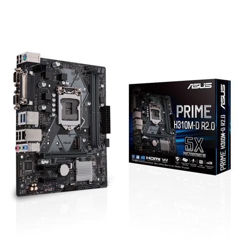 ASUS MB PRIME H310M-D R2.0 LGA1151 HDMI/VGA MATX