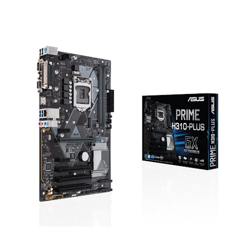 ASUS MB PRIME H310-PLUS ATX LGA1151 8TH