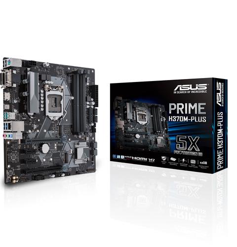 ASUS MB PRIME H370M-PLUS  LGA1151 8TH MATX
