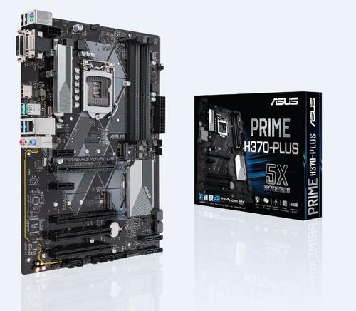 ASUS MB PRIME H370-PLUS ATX LGA1151 8TH