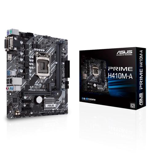ASUS MB PRIME H410M-A 1200 2DDR4 VGA DVI HDMI MATX