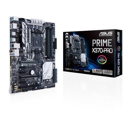 ASUS MB PRIME X370 PRO AM4 64 GB 4SLOT DDR4  1 x HDMI
