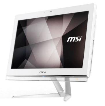 MSI PC AIO PRO 20EXTS 8GB-052X N5000 8GB 256GB 19,5 TOUCH DVD-RW FREEDOS WHITE