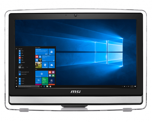 MSI PC AIO PRO 22ET 7NC I3-7100 4GB 1TB 21,5 TOUCH GT 930 MX 2GB FREEDOS BLACK