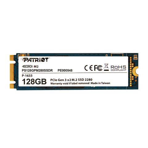 PATRIOT SSD SCORCH 128GB M.2 PCIE GEN 3X2 NVM2 1.2
