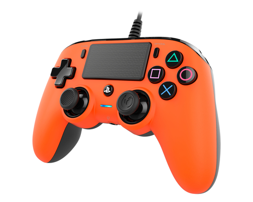 NACON COMPACT CONTROLLER CON CAVO PER PLAYSTATION 4 ARANCIO (PC COMPATIBILE)