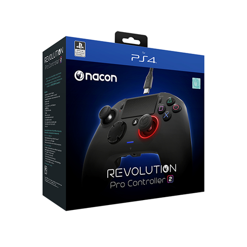 NACON CONTROLLER PRO REVOLUTION 2 LICENZA UFFICIALE PLAYSTATION 4 BLACK (PC COMPATIBILE)