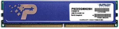 PATRIOT RAM DIMM 2GB DDR2 800MHZ SDRAM CL6 NON ECC