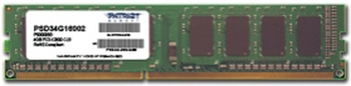 PATRIOT RAM DIMM 4GB DDR3 1600MHZ