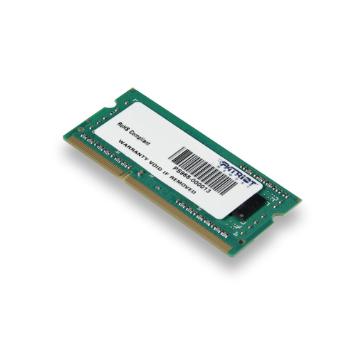 PATRIOT RAM SODIMM 4GB DDR3 1600MHZ